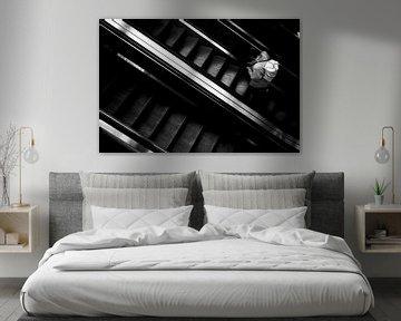 Rolltreppe 5 von Bart Rondeel