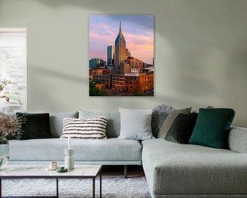 Stadtzentrum von Nashville von Thomas Bartelds