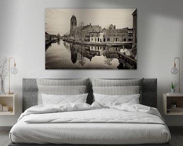 Schwarz-Weiß-Fotografie - Oudewater ... von Bert - Photostreamkatwijk
