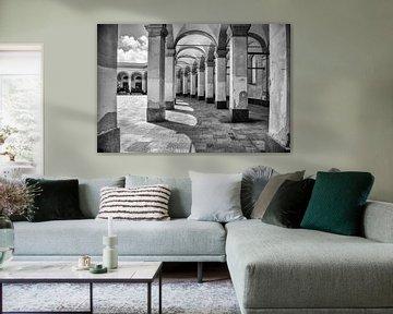 Schwarz-Weiß-Fotografie - Platz der Republik ... von Bert - Photostreamkatwijk