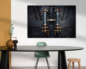 Detail Dampfmaschine (Towerbridge London) von Douwe van Willigen