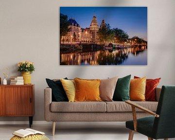 Rijksmuseum zomeravond van Robert van Walsem