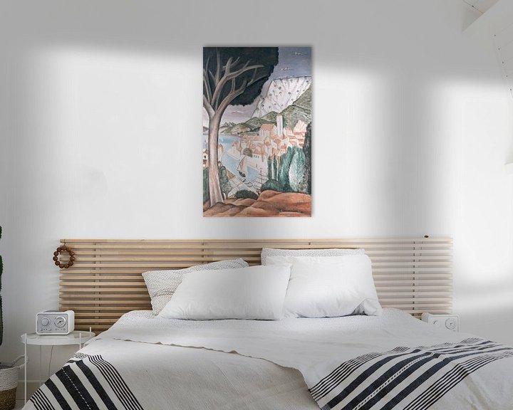 Beispiel: Martigues (Hafen in der Provence), André Derain.