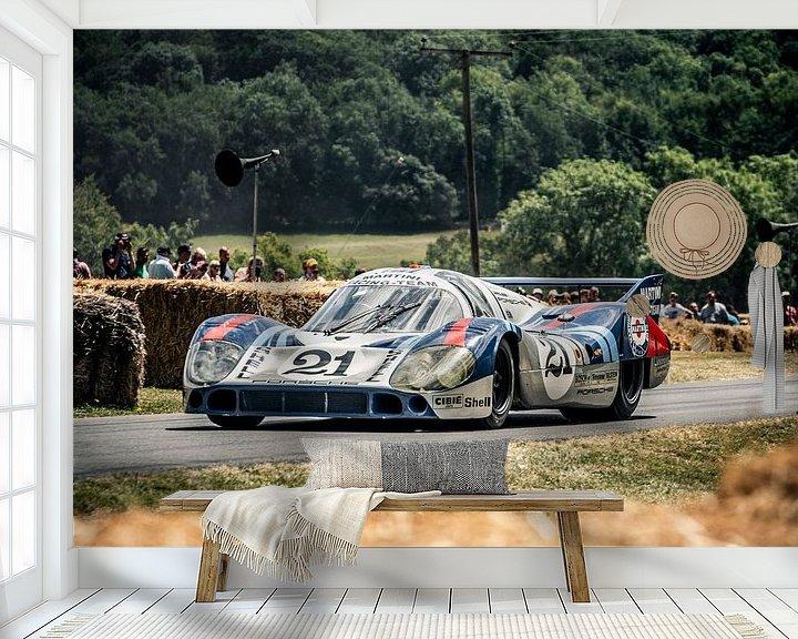 Beispiel fototapete: Porsche 917 Martini von Maurice Volmeyer