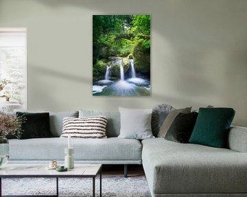Sprookjesachtige waterval van Christa Thieme-Krus