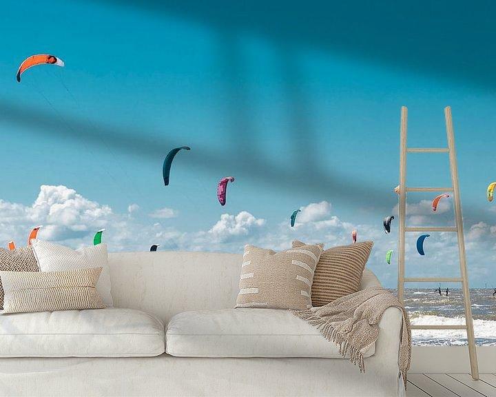 Sfeerimpressie behang: Surf 3 van Elle Rowbottom