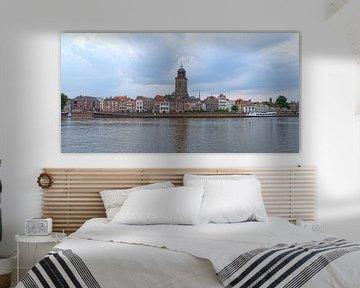 Panorama skyline Deventer van Rick de Visser