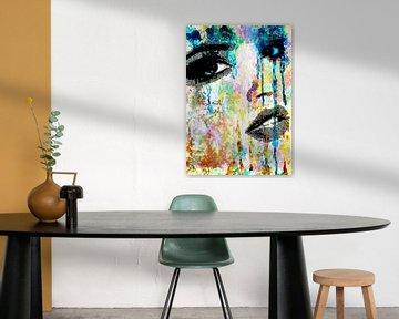 Tears of a woman van PictureWork - Digital artist