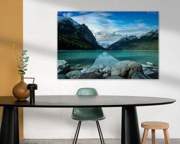 Lake Louise (Kanada), Banff Nationalpark von Gert Hilbink