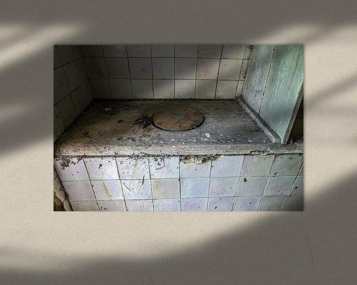 Sfeerimpressie: Smerig toilet van Ans Bastiaanssen