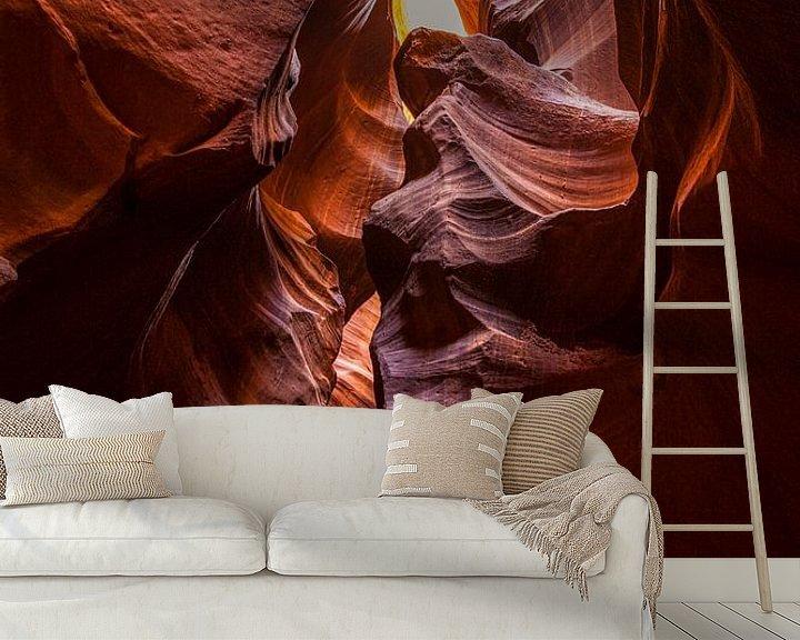Beispiel fototapete: Canyons in Amerika, Antelope Canyon von Gert Hilbink