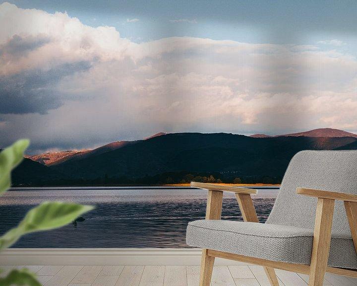 Sfeerimpressie behang: Bergen Griekenland van Jessie Jansen