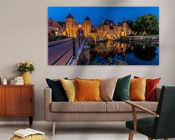 Koppelpoort te Amersfoort van Wim Brauns