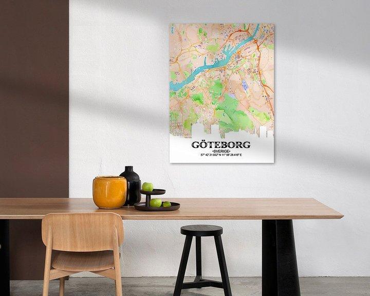 Sfeerimpressie: Göteborg van Printed Artings