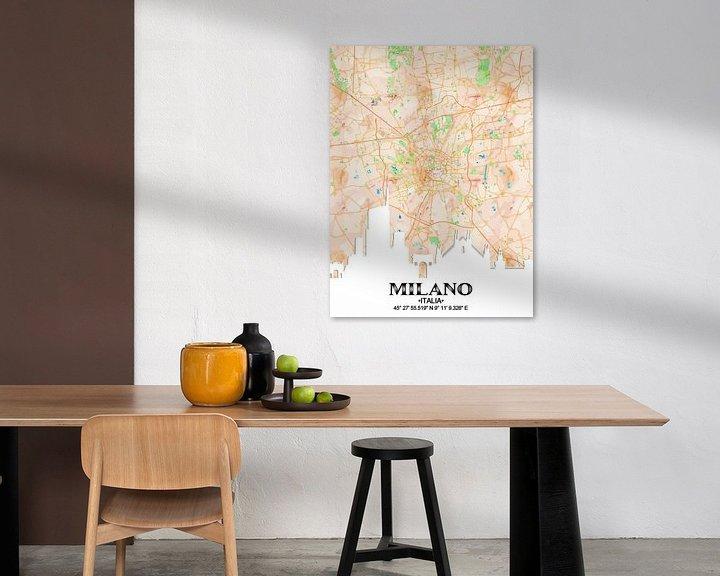 Sfeerimpressie: Milaan van Printed Artings