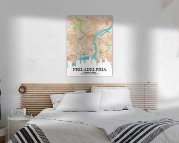 Philadelphia van Printed Artings