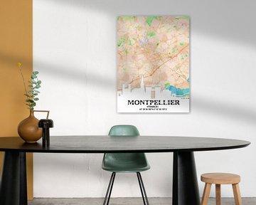 Montpellier von Printed Artings