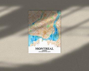 Montreal von Printed Artings