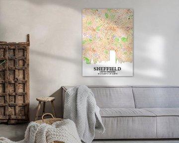 Sheffield von Printed Artings