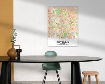 Sevilla von Printed Artings