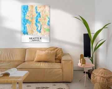 Seattle von Printed Artings