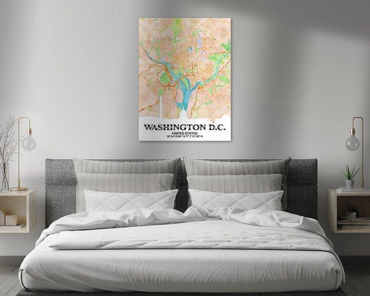 Beispiel: Washington D.C. von Printed Artings
