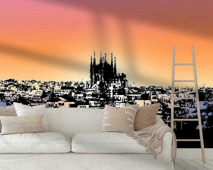 Impression: Barcelone sur Printed Artings