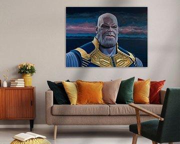 Thanos Schilderij van Paul Meijering
