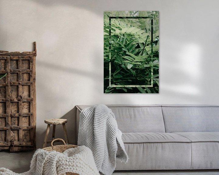 Sfeerimpressie: Natuur - Green Leaf van Mandy Jonen