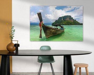 Longtailboot in Krabi