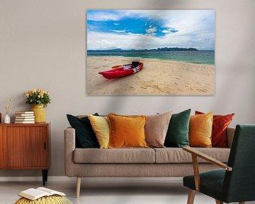 Kajak in Railay Beach