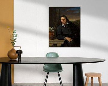 Porträt von Florentius Schuyl, Frans van Mieris der Ältere