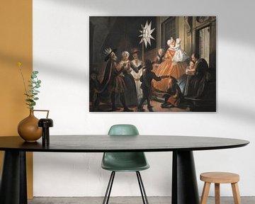Singen um den Stern in der Zwölften Nacht, Cornelis Troost