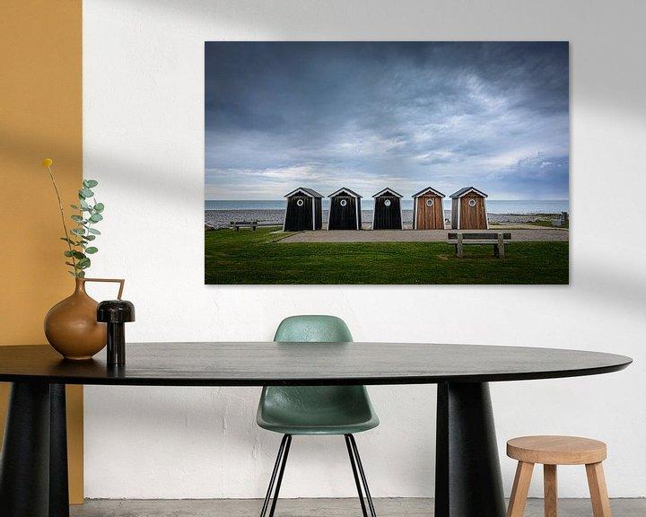 Sfeerimpressie: Strandhuisje in Sainte-Marguerite-sur-mer van Kok and Kok