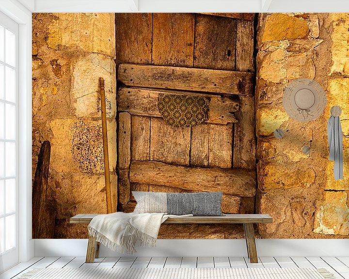 Beispiel fototapete: Die alte Tür von Halma Fotografie
