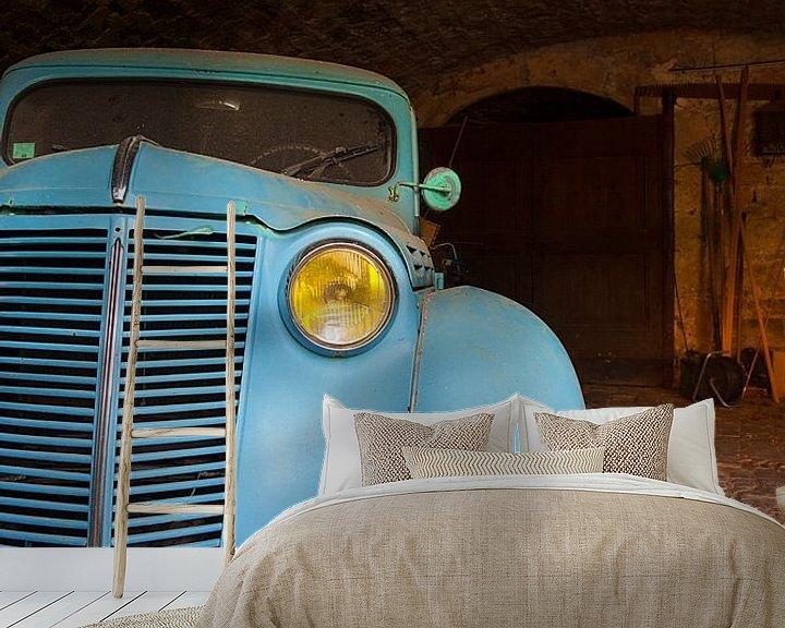 Beispiel fototapete: Alter Renault von Halma Fotografie