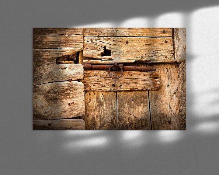 Beispiel: Alte verschlossene Tür von Halma Fotografie