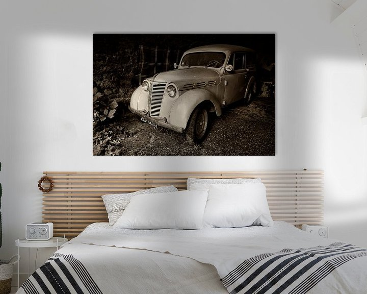Beispiel: Alter Renault Dauphinoise von Halma Fotografie