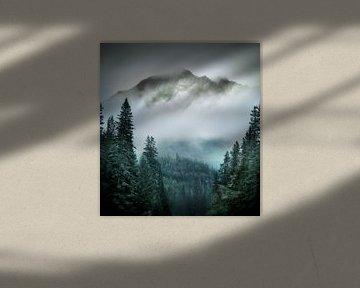 Berg groen van Kees van Dongen
