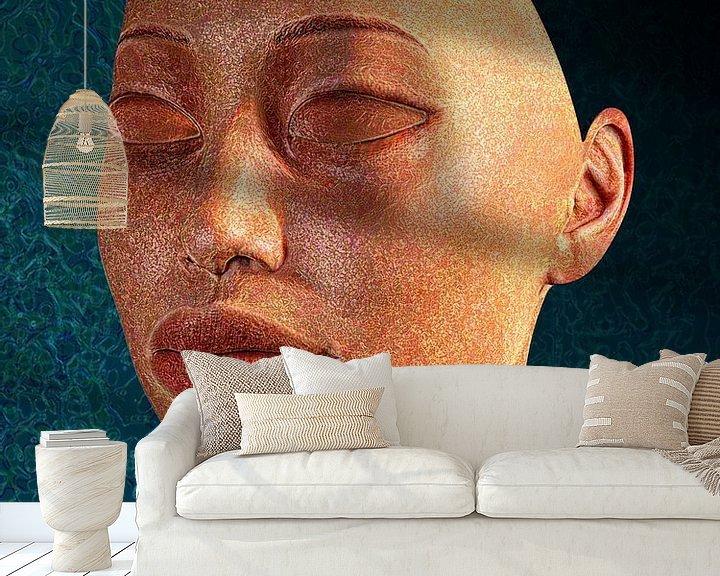 Sfeerimpressie behang: Breekbaar van Ton van Hummel (Alias HUVANTO)