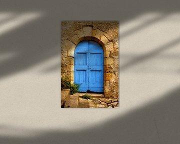 Die alte blaue Tür von Halma Fotografie