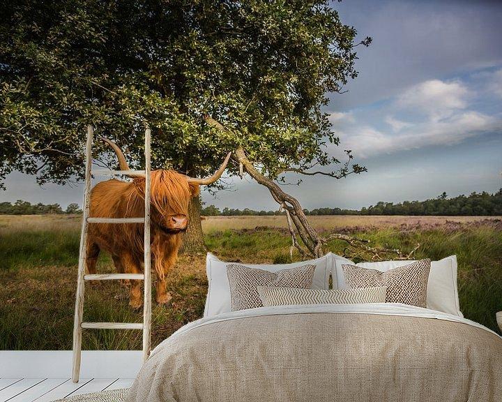 Beispiel fototapete: Urgestein Rind von Anneke Hooijer