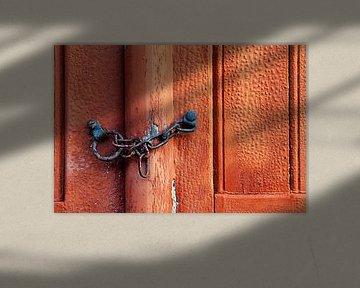 Die rote Tür von Halma Fotografie