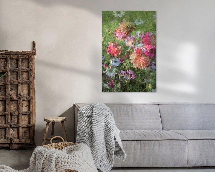 Sfeerimpressie: Zomerbloemen van Diana Mets