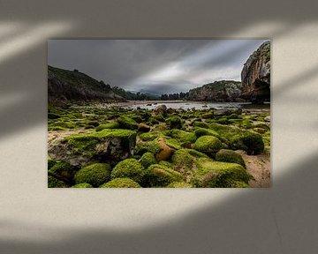 Playa de Cuevas del Mar in Asturias