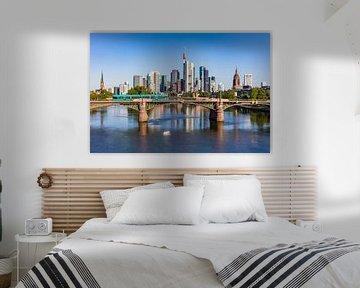 Skyline von Frankfurt am Main von Werner Dieterich