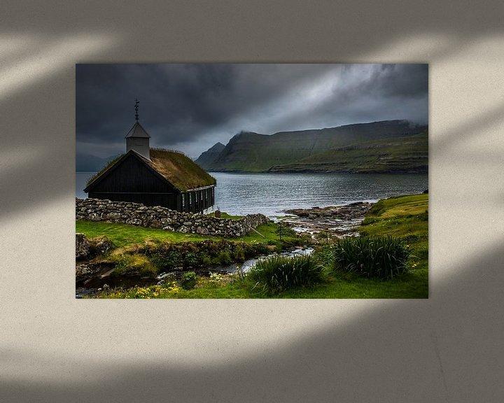 Sfeerimpressie: Kerk Funningur van Kim Claessen