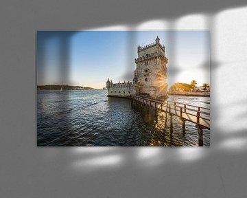 Torre de Belém in Lissabon von Werner Dieterich