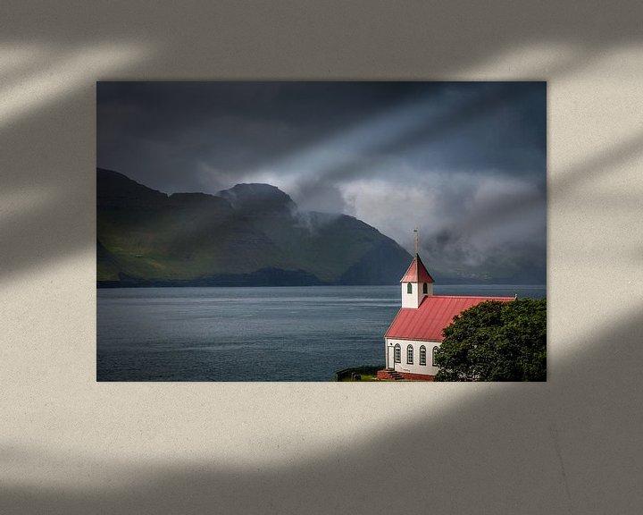 Sfeerimpressie: Kerk Kunoy van Kim Claessen