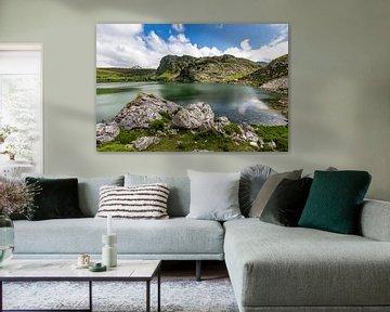 Lago Enol in Picos de Europa